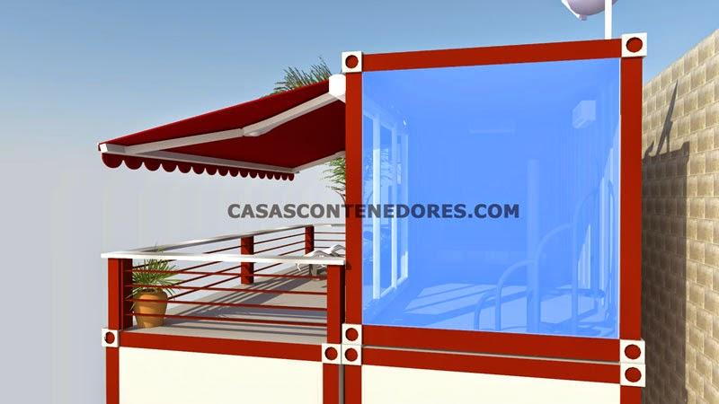 Casas Contenedores Dise 241 O De Vivienda Con 3 Contenedores