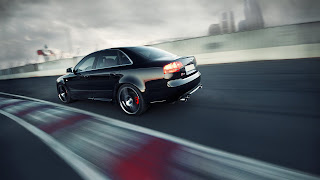 Audi A4 Tuning HD Wallpaper