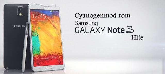 cyanogenmod 12.1  rom on samsung galaxy note 3 hlte