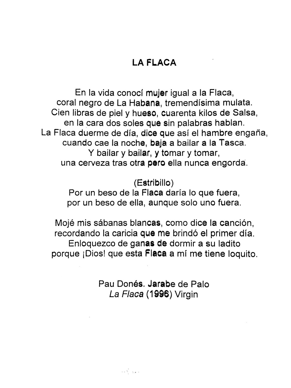 Letra de la cancion de desnuda picture 357