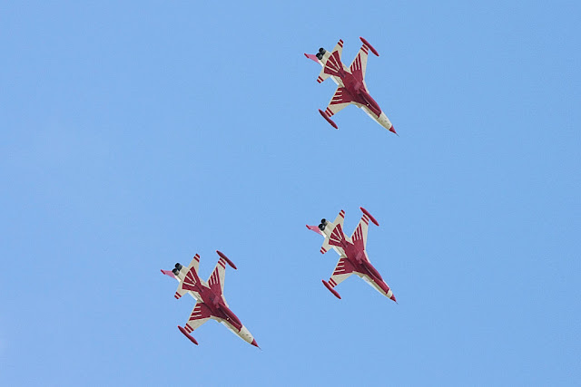 Turkish Stars formation flight