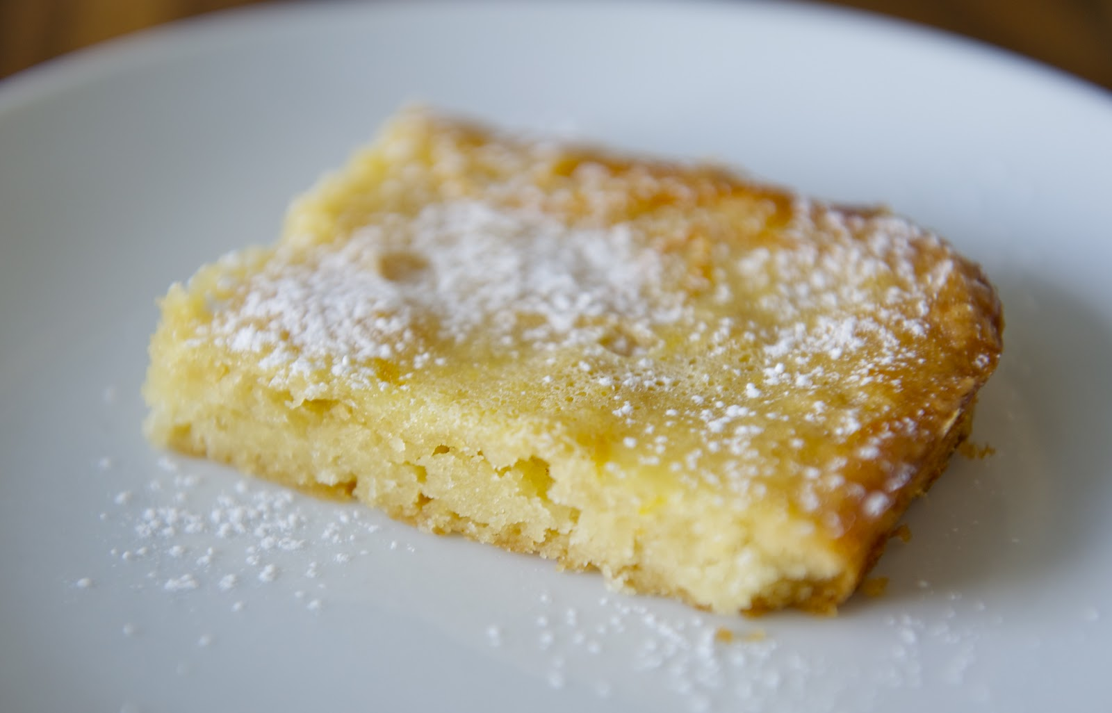 CAKE ON THE BRAIN: MEYER LEMON BARS (GF)