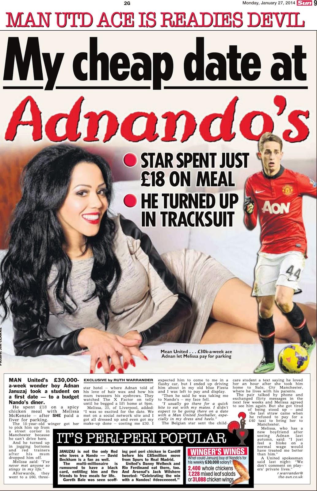 Who is adnan januzaj dating