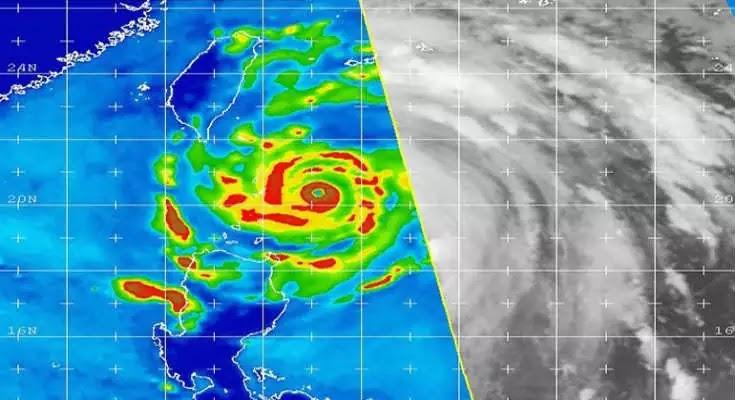 Ο ισχυρότερος τυφώνας στον πλανήτη από το 2013 θα χτυπήσει Ταϊβάν και Κίνα [Βίντεο]