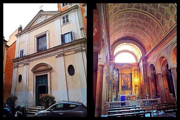 Wnętrze kościoła S. Maria in Monterone