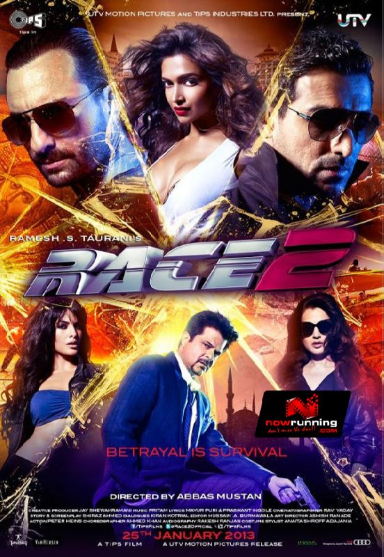 Race 2 (2013) Hindi Full Movie Watch Online - Watch Hindi ... Race 2