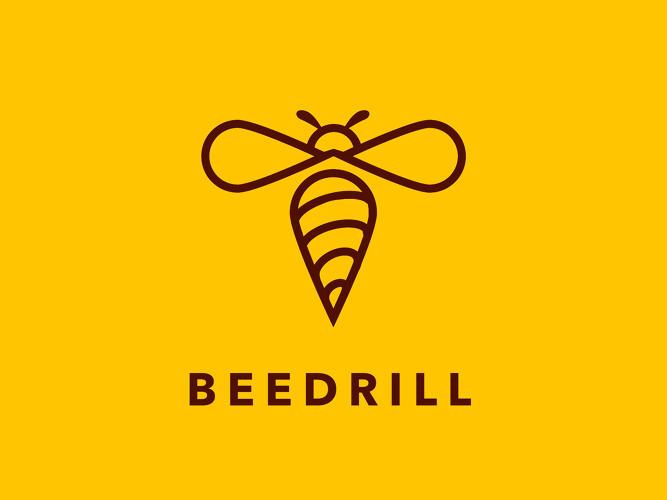 Logo basado en el personaje Pokémon Beedrill