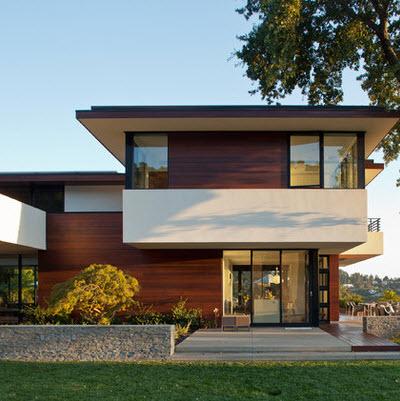 Casa estilo moderno dise os arquitect nicos for Fachadas de casas estilo rustico moderno