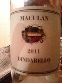 Maculan Dindarello 2011