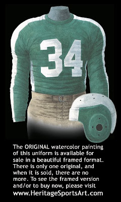 Philadelphia Eagles 1943 uniform