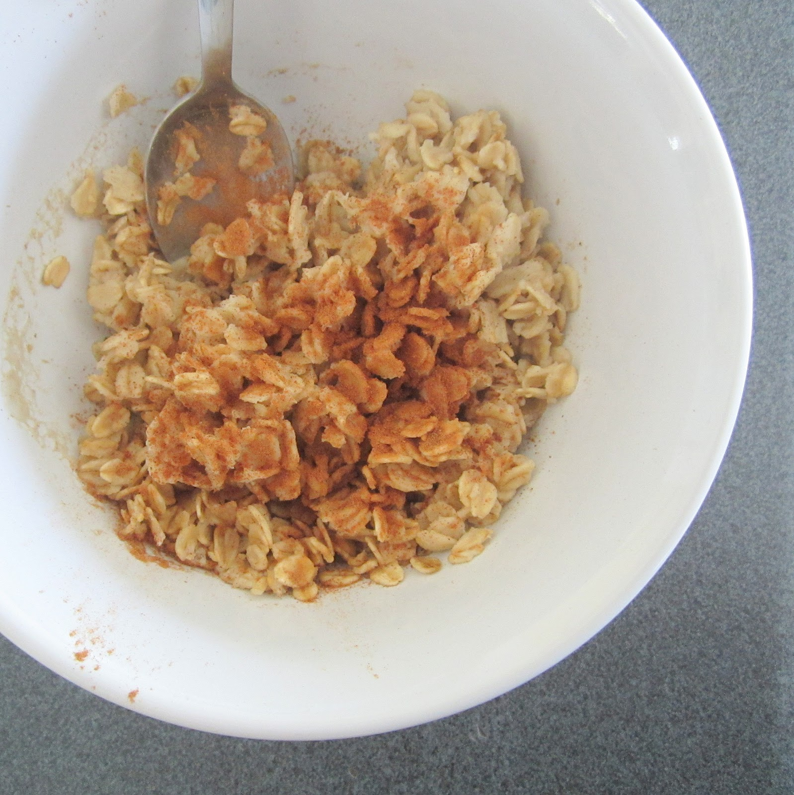 how to make rolled oats in microwave