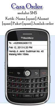 cara pesan melalui sms
