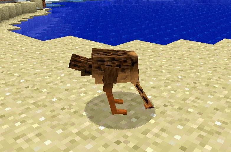 Mo' Creatures avestruz Minecraft mod
