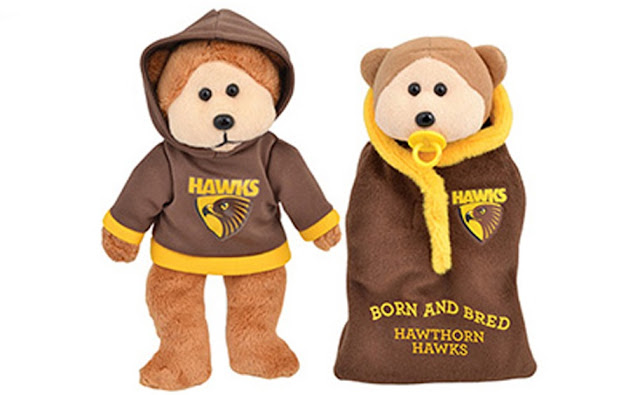 Hawthorn Hawks Beanie Kids