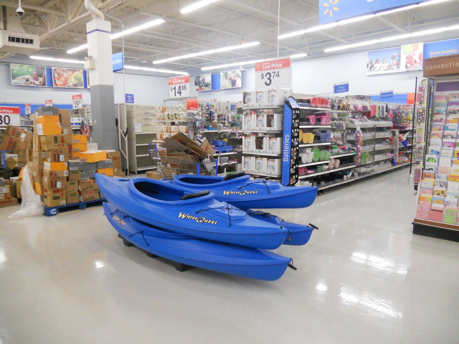Kayaks for sale at walmart e b for Walmart fishing boats