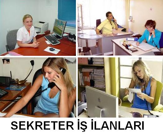 Sekreter is ilanlari sekreter arayanlar - sekreterlik isleri sekreter