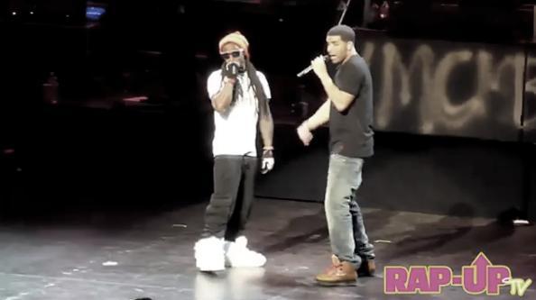 Foto do Lil Wayne e Drake