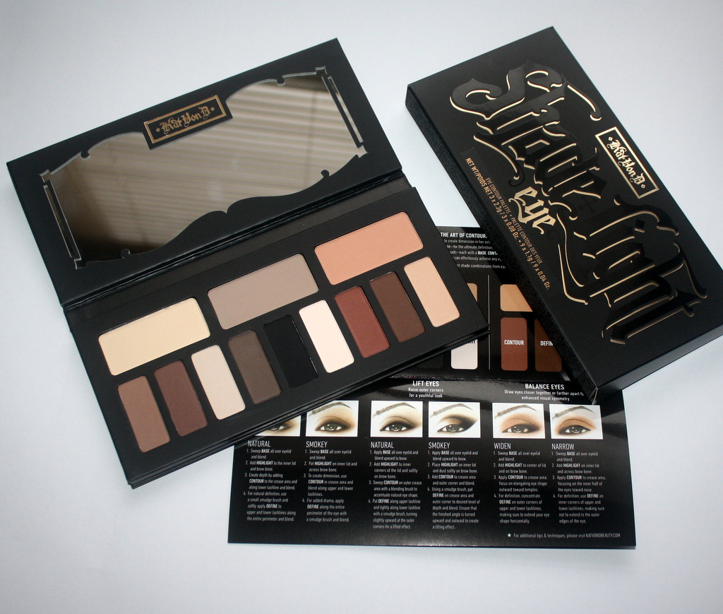 .Kat Von D Shade & Light Eye Contour paletta