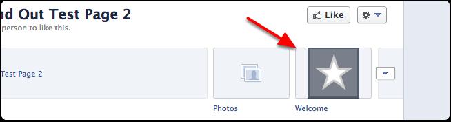 Welcome tab on facebook এইচটিএমেল/সিএসএস কোড দিয়ে আপনার ওয়েব সাইট বা মেনু বার আপনার ফেসবুক পেজে যোগ করুন (ফেসবুক পর্ব ১)!!
