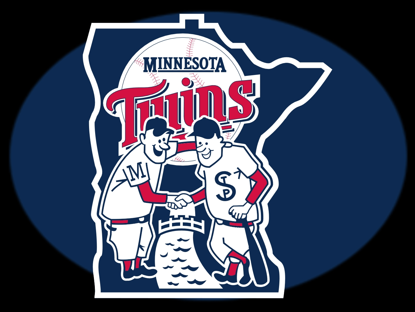 Minnesota Basketball Logo The Minnesota Twins Logo