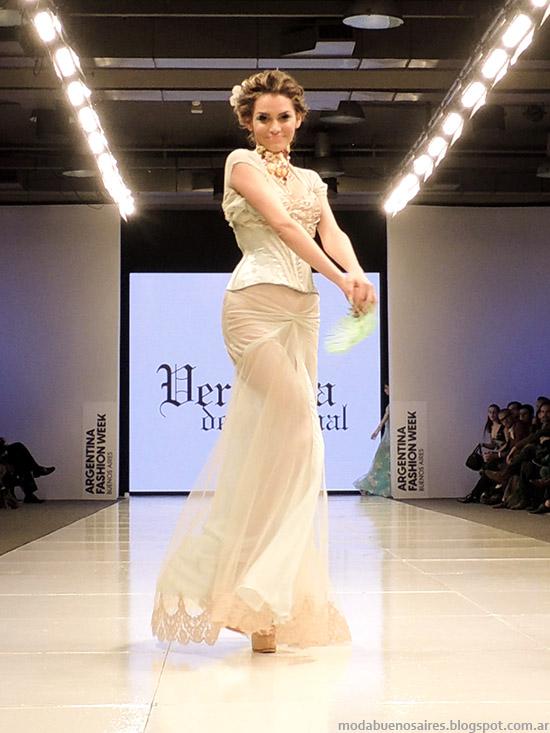 Veronica de la Canal primavera verano 2015. Moda en el desfile Silkey Argentina Fashion Week primavera verano 2015.
