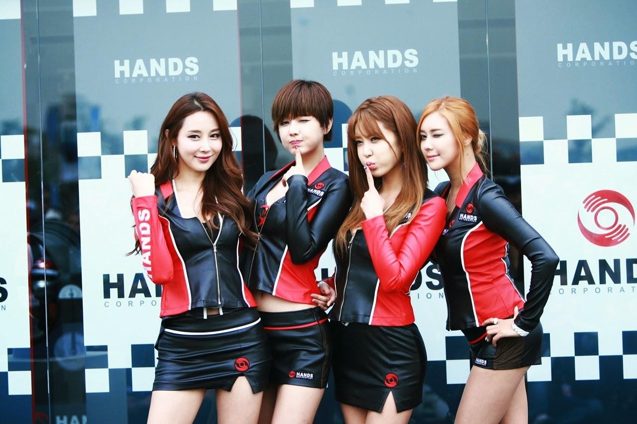 1 Kim Ha Yul - Korea Speed Festival 2014 - very cute asian girl-girlcute4u.blogspot.com