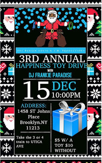 3rd Annual TOY DRIVE!!