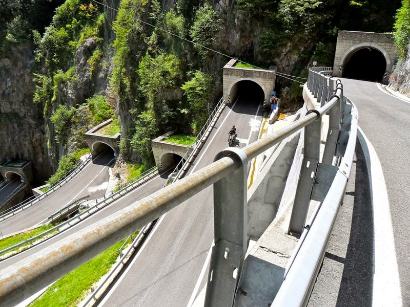 San Boldo Pass Tunnels