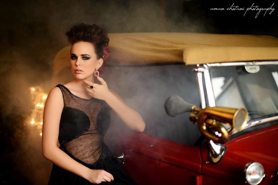 Vintage High Fashion Photography High Fashion Vintage Car Shoot