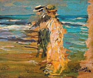 A la vora del mar (Ignasi Pinazo Camarlench)