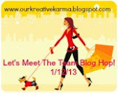 First Karma Blog hop