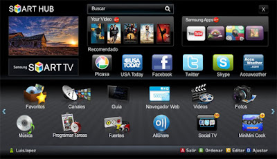 Samsung Smart TV te conectá
