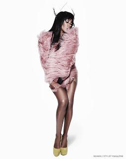 Kelly-Rowland-Stylist Kelly Rowland pour Stylist Magazine