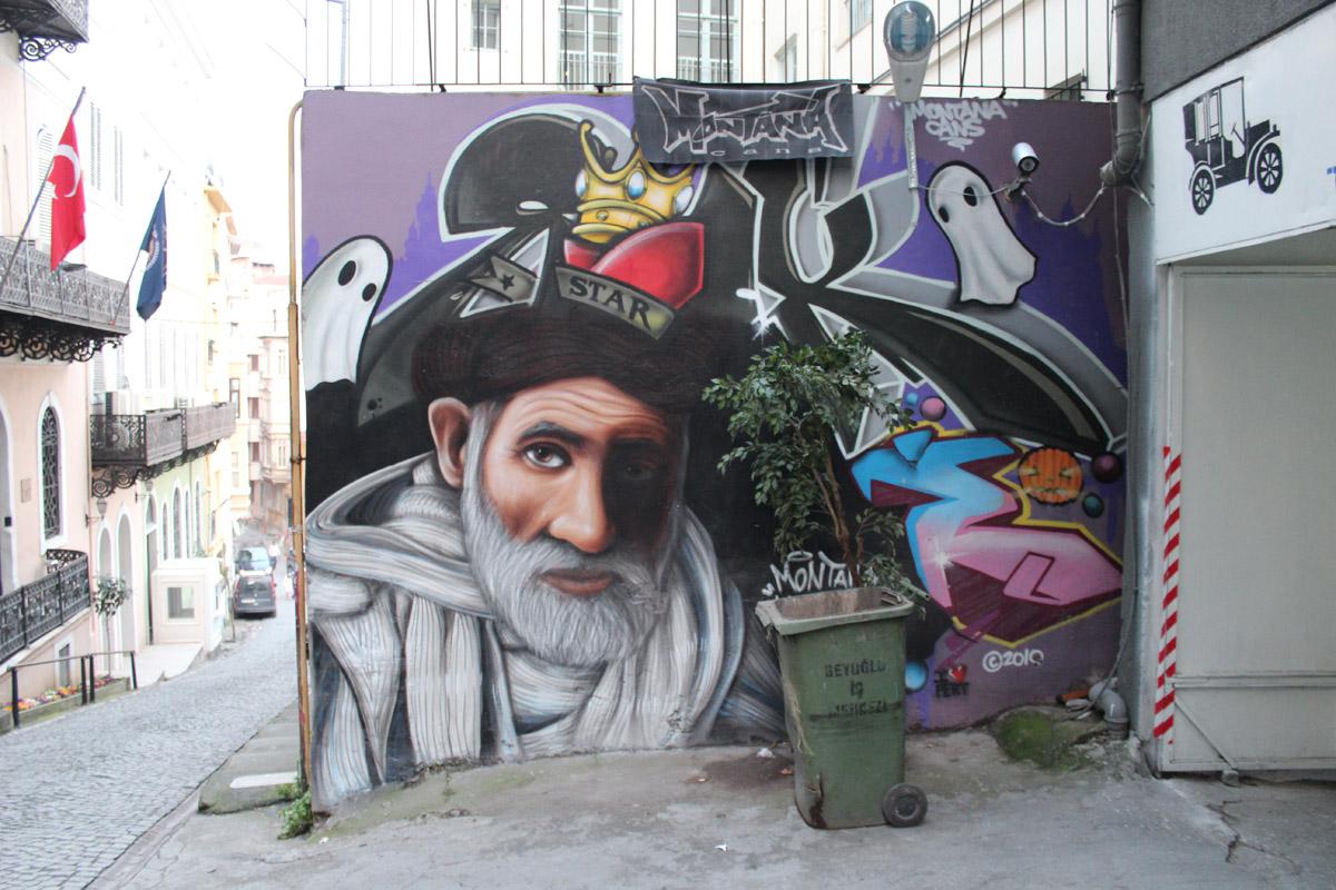 Graffiti Taksim İstanbul