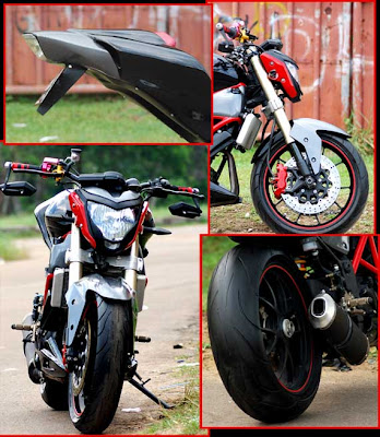 Photo Modifikasi Ninja Drag