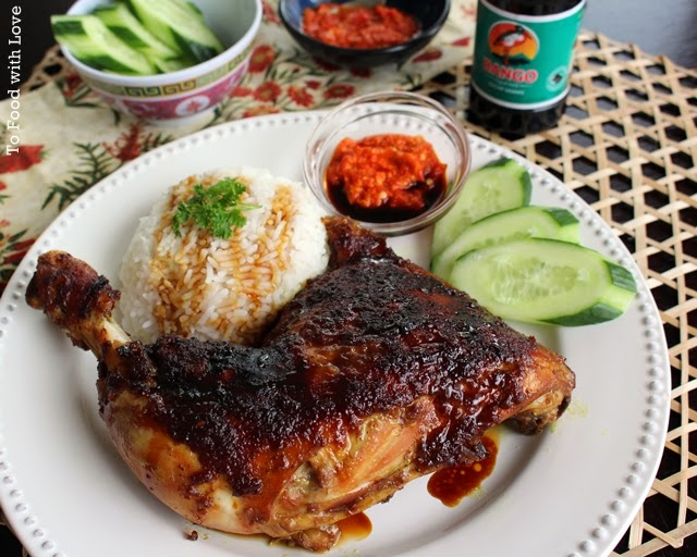 To food with love ayam bakar indonesian grilled chicken forumfinder Images