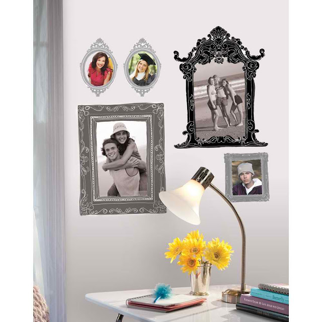 Create gallery walls in your rental with this great tip for renter friendly picture hanging.