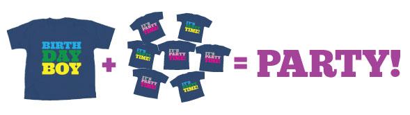Birthday T-Shirts for Kids