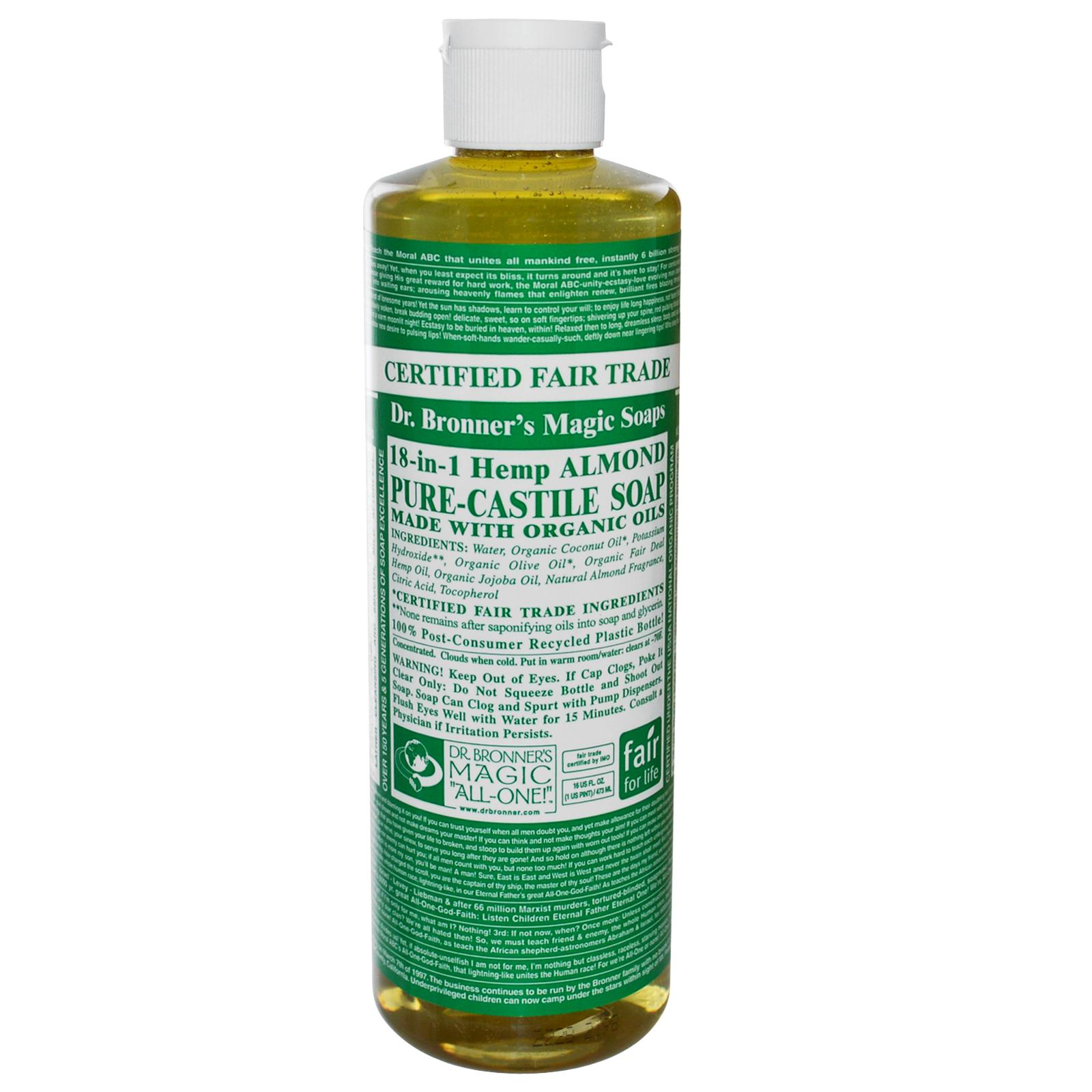 Dr bronners magic soap review