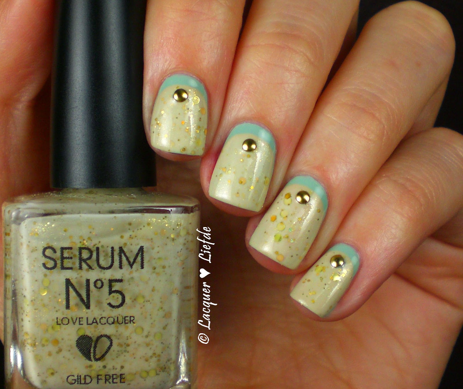 Ruffian Nails With Kiko 345 and Gild Free Serum no.5