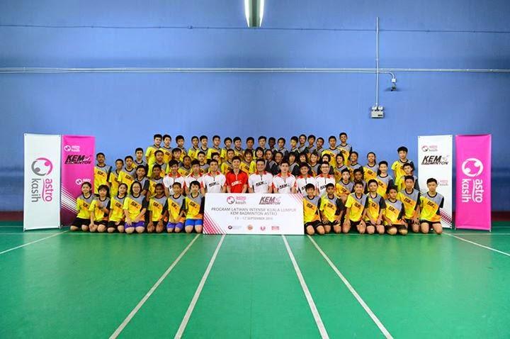 kem badminton astro 2014