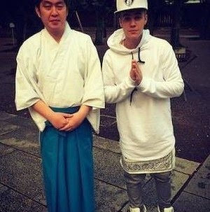 Visit Yasukuni Shrine in Japan, Justin Bieber Caused Controversy