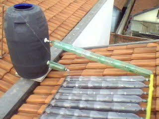 Montar aquecedor solar