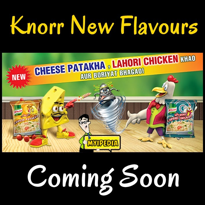 Knorr Lahori chicken and knorr cheese patakha new flavours 2014