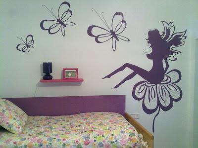Decoracion actual de moda paredes decoradas con dibujos for Decoracion de paredes con adhesivos