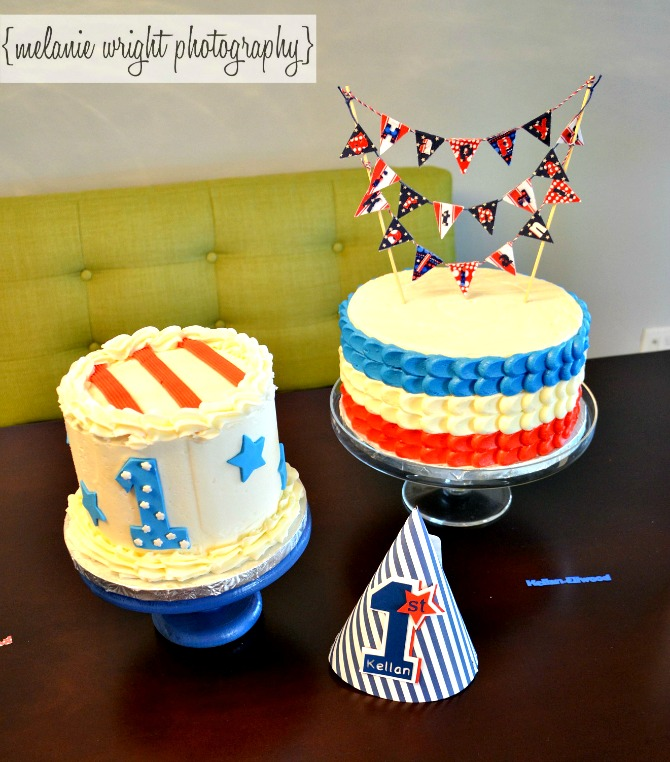 The Holland House: Red White and Blue Cakes