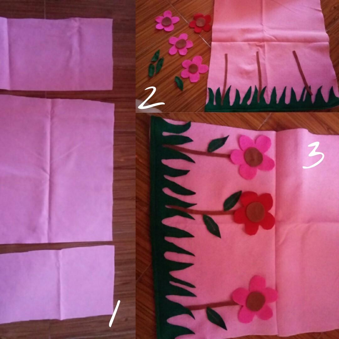 Cottonseeds Nursing Cover Fleur Apron Celemek Penutup Ibu Menyusui