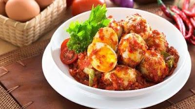 Resep membuat masakan telur balado ncc enak