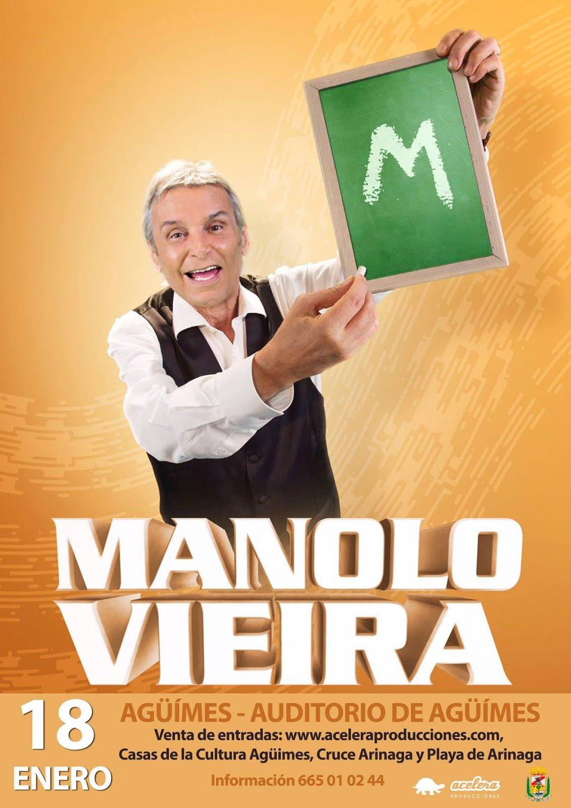 Manolo Vieira en Agüimes