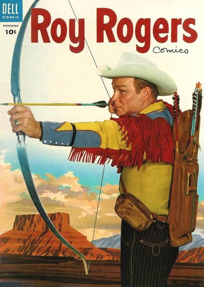 ROY ROGERS COMICS #83 1954 GOLDEN AGE DELL COMICS US IMPORT